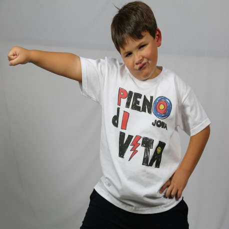 T-shirt Pieno di Vita Junior