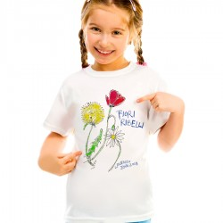 t-shirt Fiori Ribelli - junior