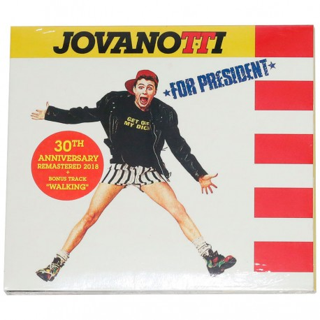 cd Jovanotti for President - 30th anniversary