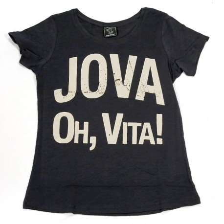 "T-shirt ""Oh, vita!"" vintage style donna"