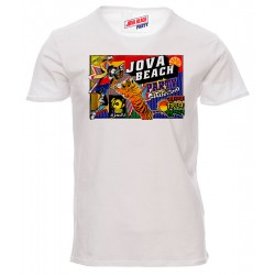 "t-shirt locandina ""Jova Beach Party"""