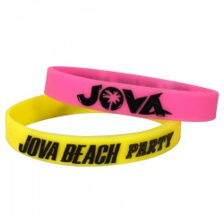 braccialetti silicone Jova Beach Party - kit 2 pz.